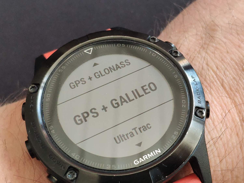 GPS Option Fenix 5 Galileo GPS